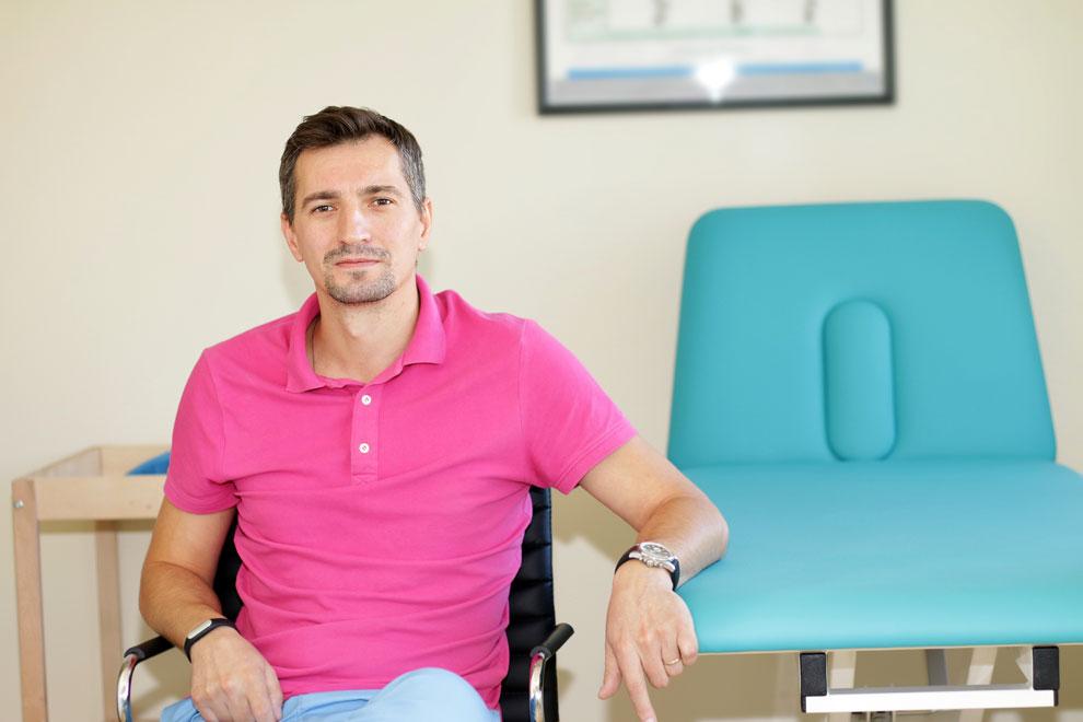 Ciprian Popescu kinetoterapeut terapia Vojta